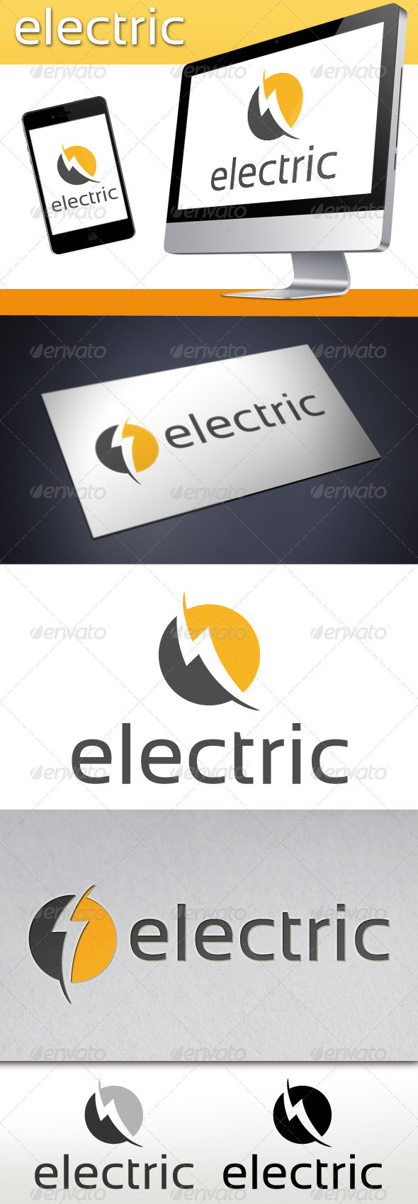Electric Logo Template - Symbols Logo Templates