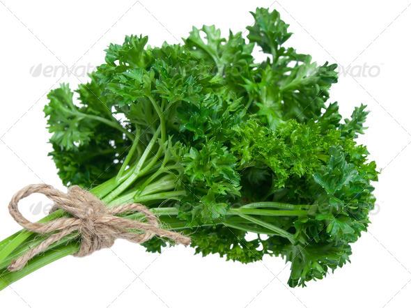 Fresh parsley bouquet - Stock Photo - Images