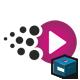Pixel Media Entertainment Logo - GraphicRiver Item for Sale