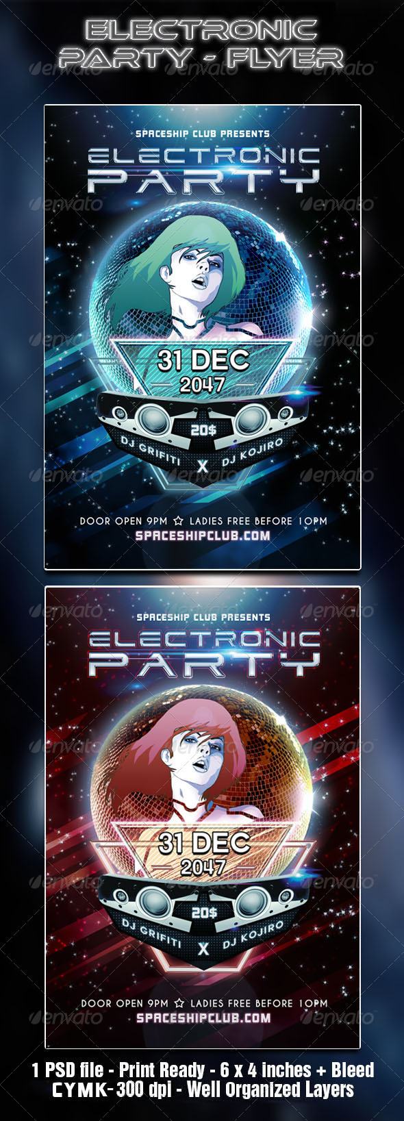 Electronic Party - Clubs & Parties Events