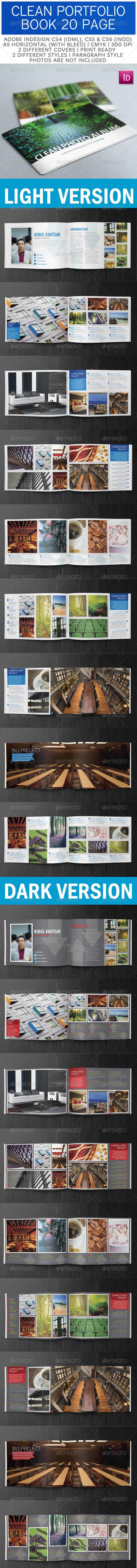 Creative Portfolio Book A5 Horizontal - Portfolio Brochures