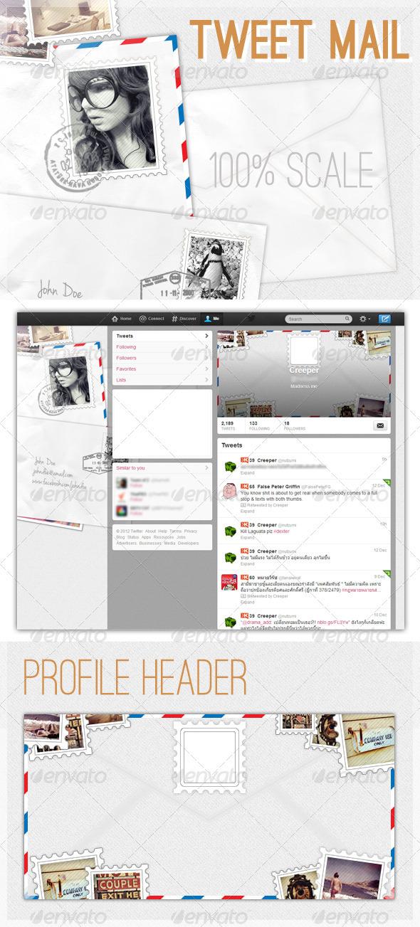 Tweet Mail - Twitter Social Media