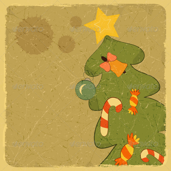 Christmas Tree Card - Christmas Seasons/Holidays