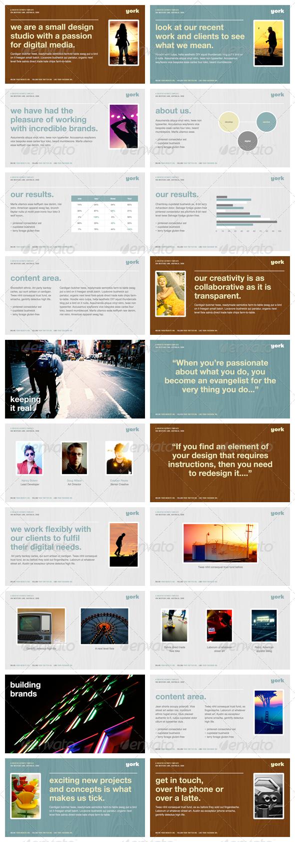 York - Powerpoint Presentation Template - PowerPoint Templates Presentation Templates
