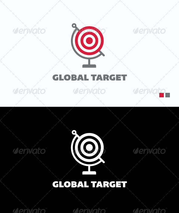 Global Target - Logo Template - Objects Logo Templates
