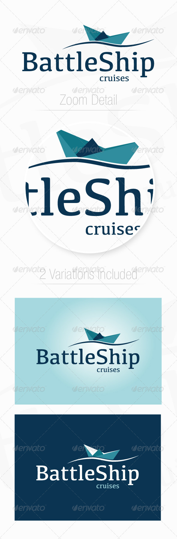 Travel Ship - Objects Logo Templates