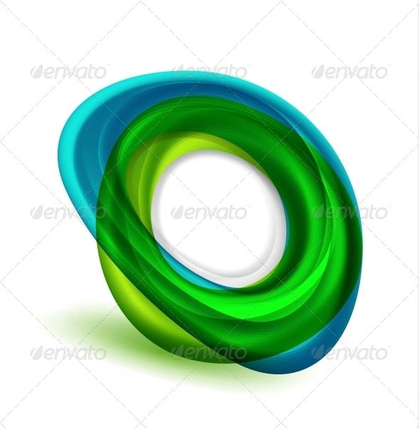 Abstract Flowing Icon - Decorative Symbols Decorative