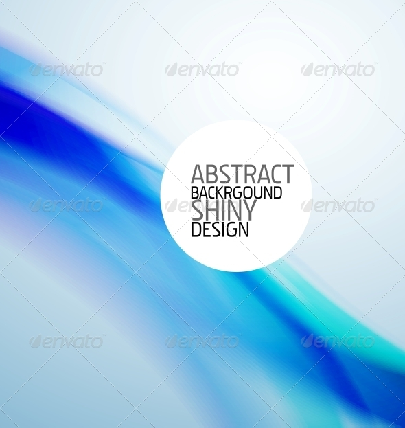 Blue Wave Background - Backgrounds Decorative
