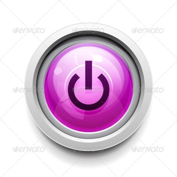 Power Button - Web Elements Vectors