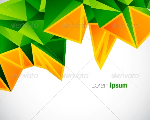 Geometrical Colorful Abstract Background - Backgrounds Decorative