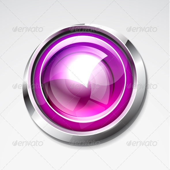 Glossy Buttons - Web Elements Vectors