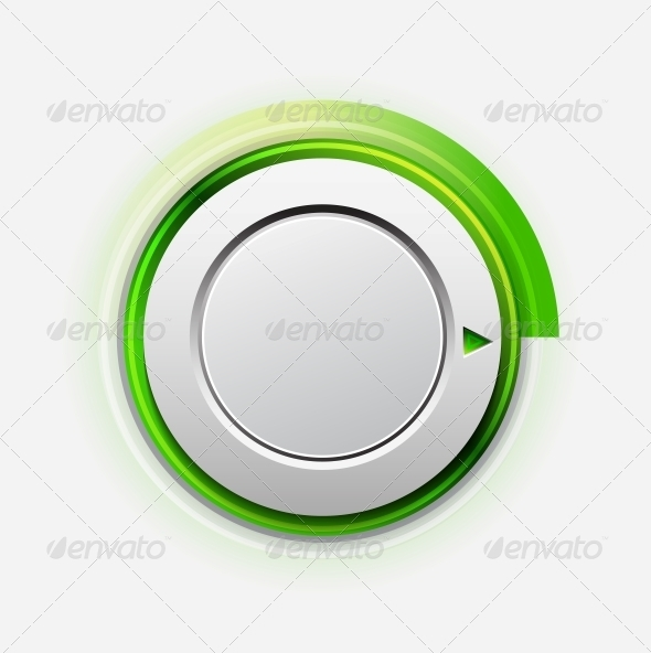 Vector Knob - Web Elements Vectors