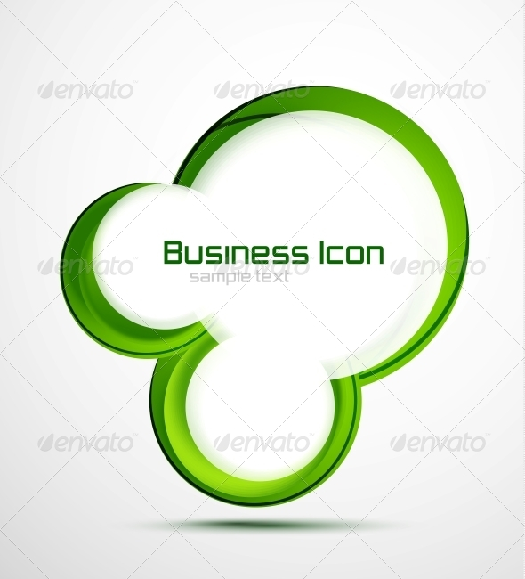 Business Ecology Swirl Concept - Decorative Symbols Decorative
