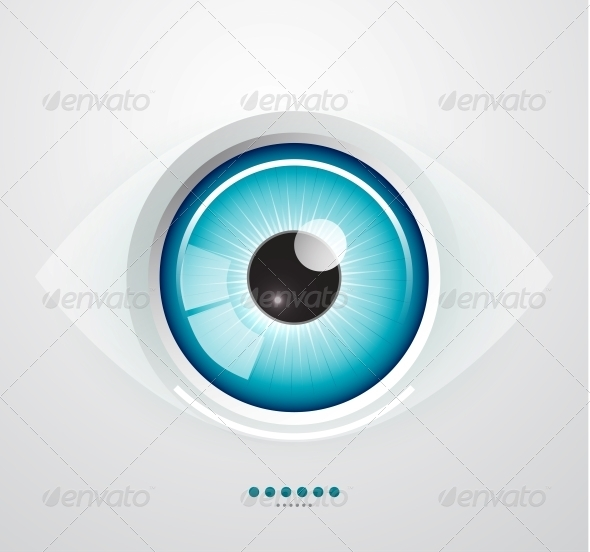 Eye Background - Web Elements Vectors
