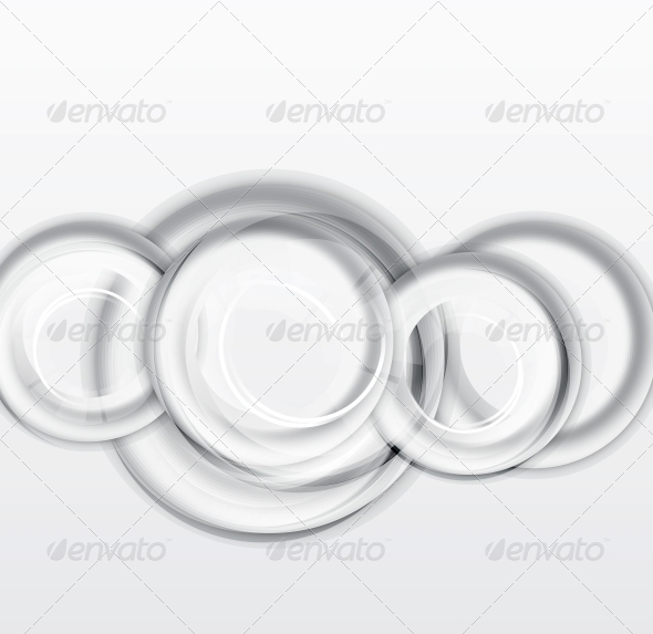 Circles Geometrical Background - Backgrounds Decorative