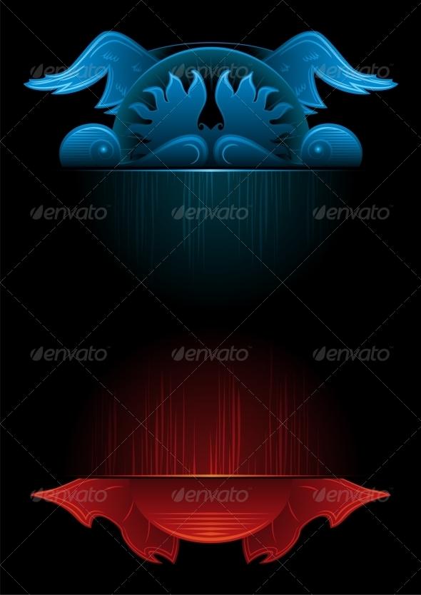Gothic Background - Backgrounds Decorative