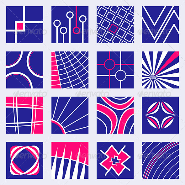 Abstract Designs Set - Decorative Symbols Decorative