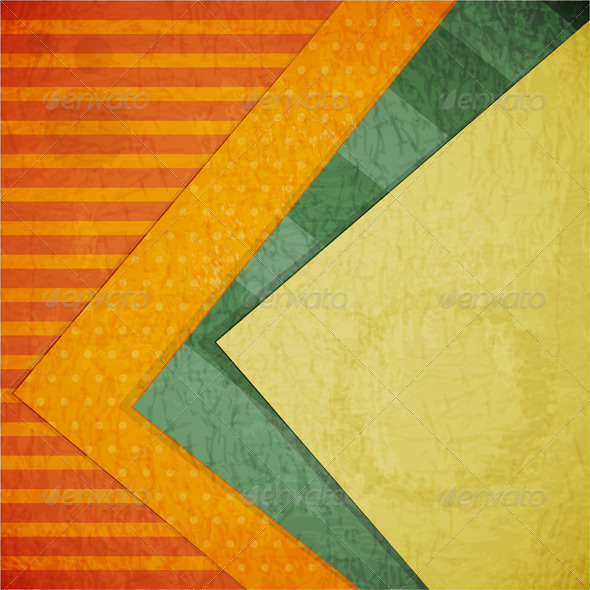 Color Paper Retro Background - Backgrounds Decorative