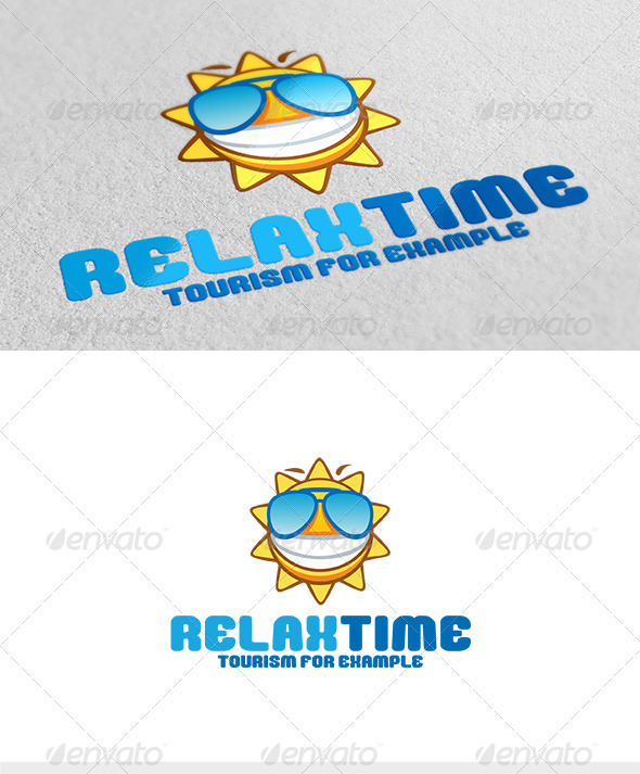Relax Time Logo - Abstract Logo Templates
