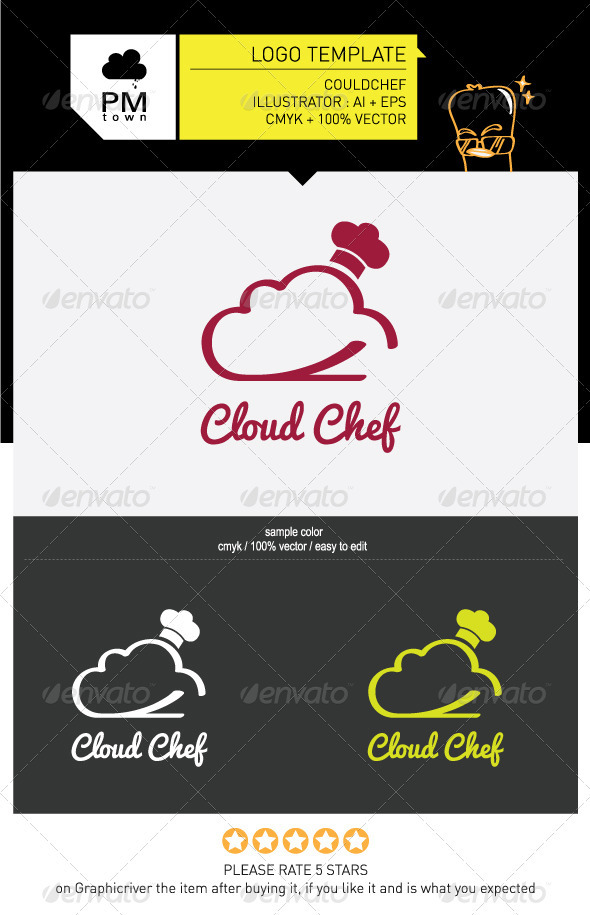 Could Chef - Food Logo Templates