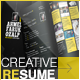 Resume For Creatives + Bonus Templates - GraphicRiver Item for Sale