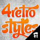 4 Retro Layer Styles - GraphicRiver Item for Sale