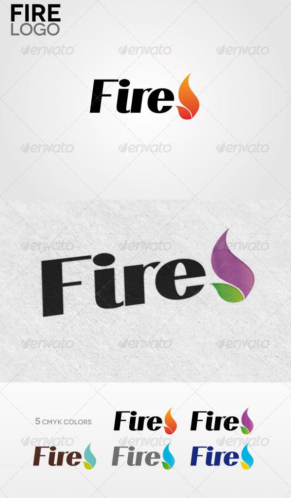 Fire Logo - Symbols Logo Templates