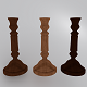 Wooden Candlestick 2 - 3DOcean Item for Sale