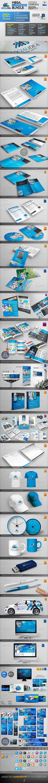 Socialidea: Social Media ID Mega Branding Bundle - Stationery Print Templates