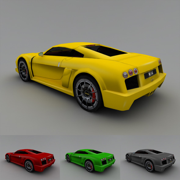 2005 Noble M14 (Low-Poly) - 3DOcean Item for Sale