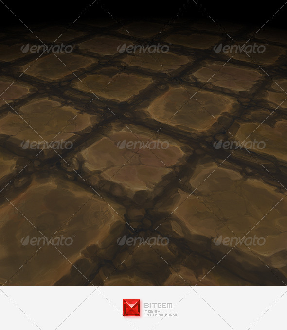 Stone Floor Tile 12 - 3DOcean Item for Sale
