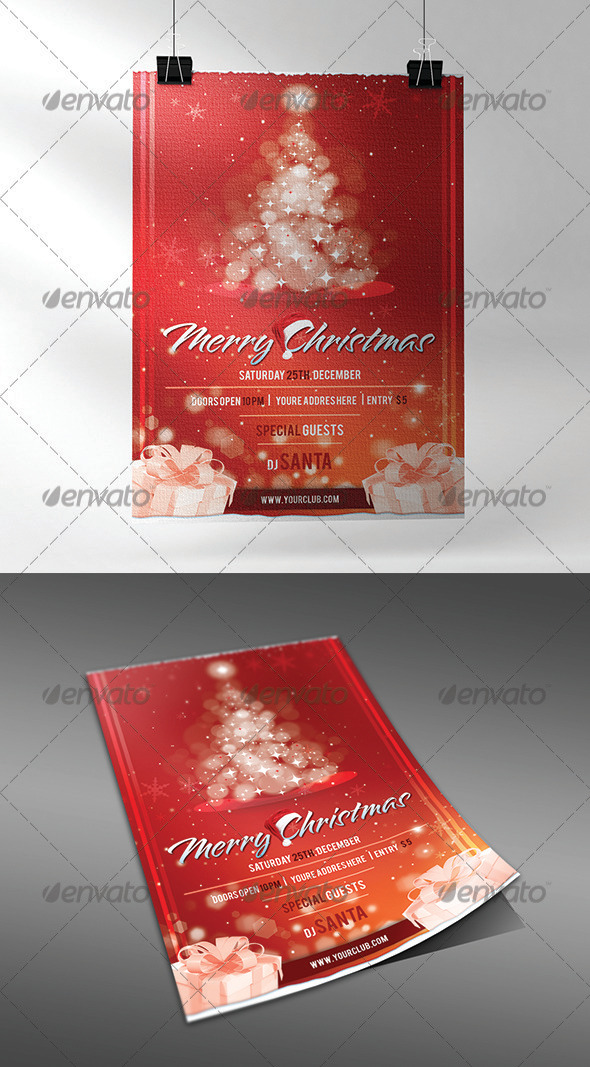 Christmas Flyer - Flyers Print Templates