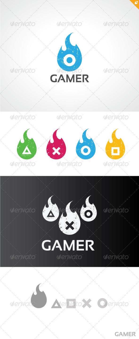 Gamer Logo V2 - Symbols Logo Templates