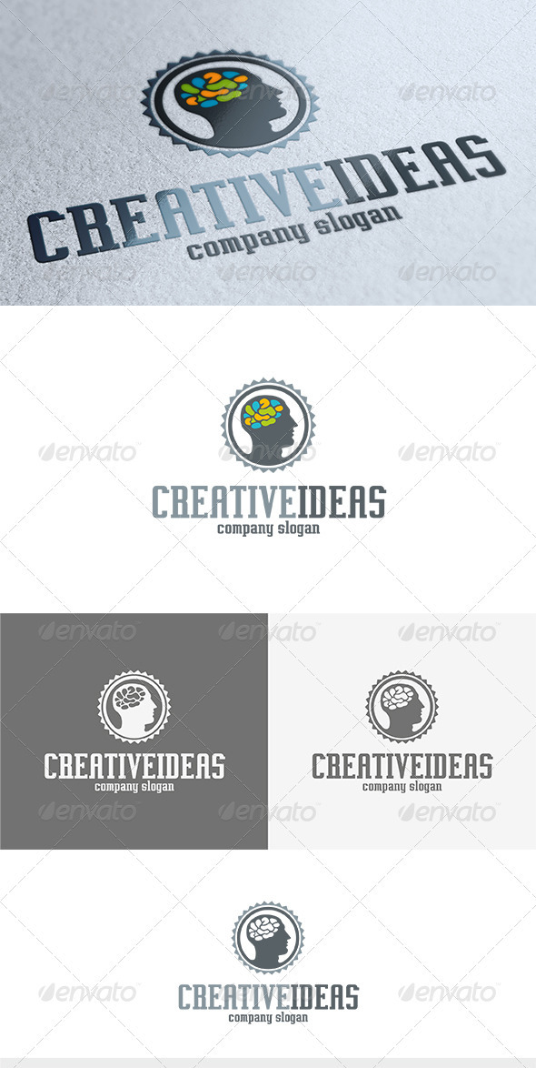 Creative Ideas Logo - Humans Logo Templates