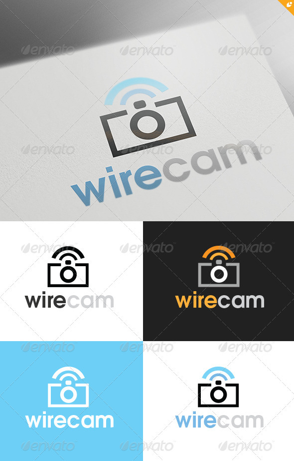 Wirecam Logo - Objects Logo Templates