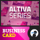 Altiva Series - Business Card - GraphicRiver Item for Sale