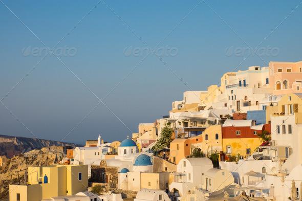 Beautiful Oia, Santorini - Stock Photo - Images