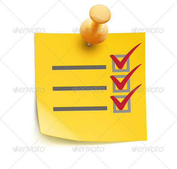 Yellow Check List - Concepts Business