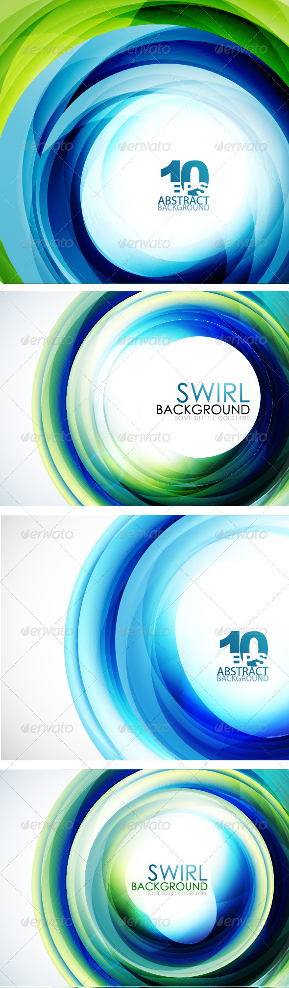 Blue Swirl Backgrounds - Backgrounds Decorative