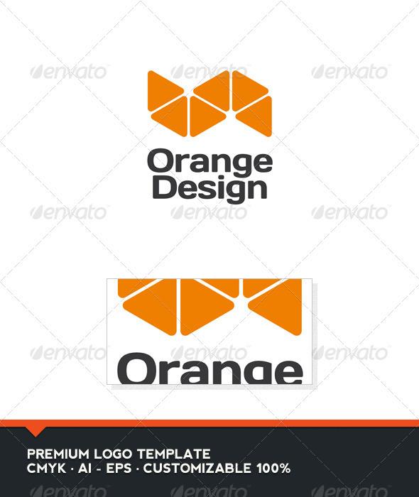 Orange Design Logo Template - Nature Logo Templates