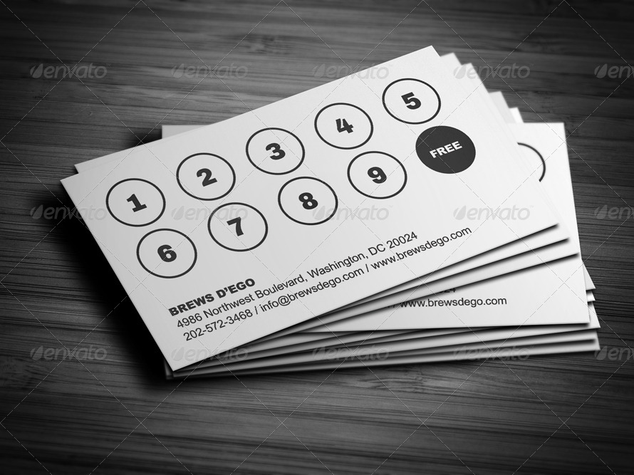 Amazing Loyalty Business Cards Gallery - Business Card Ideas ...