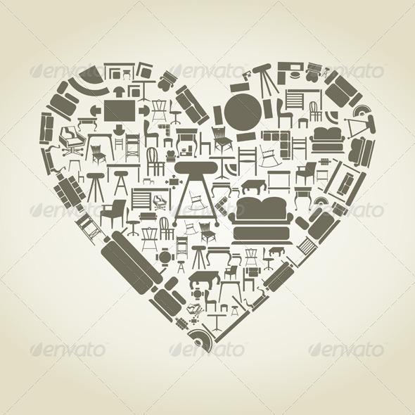 Heart of Furniture - Valentines Seasons/Holidays