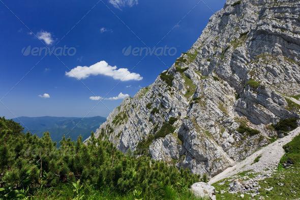 mountain slope - Stock Photo - Images