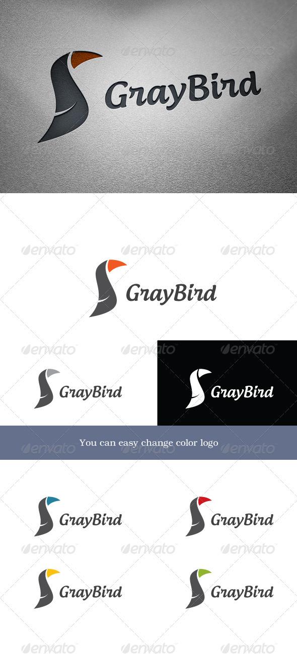 GrayBird Logo - Animals Logo Templates
