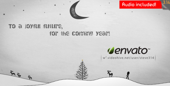 Inkman presents Xmas & New year\'s Greetings (AE) by steve314 | VideoHive