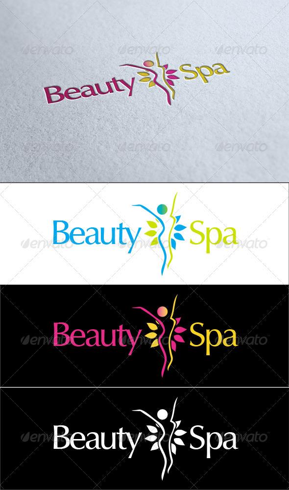 Beauty Spa Logo - Symbols Logo Templates