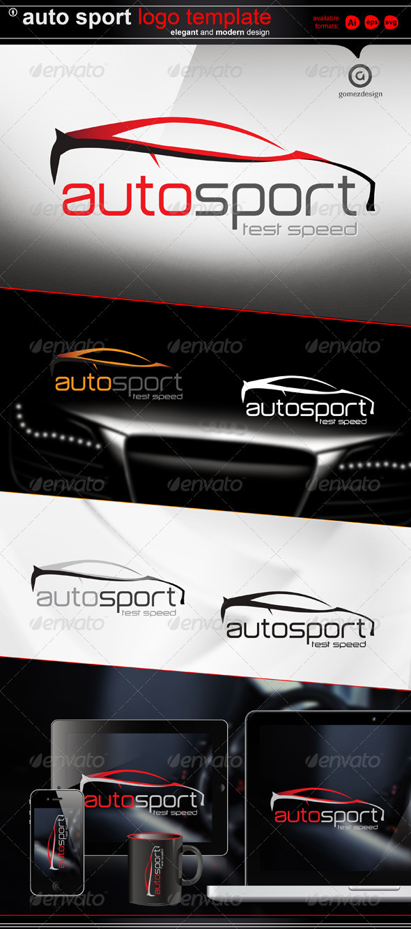 Auto Sport - Objects Logo Templates