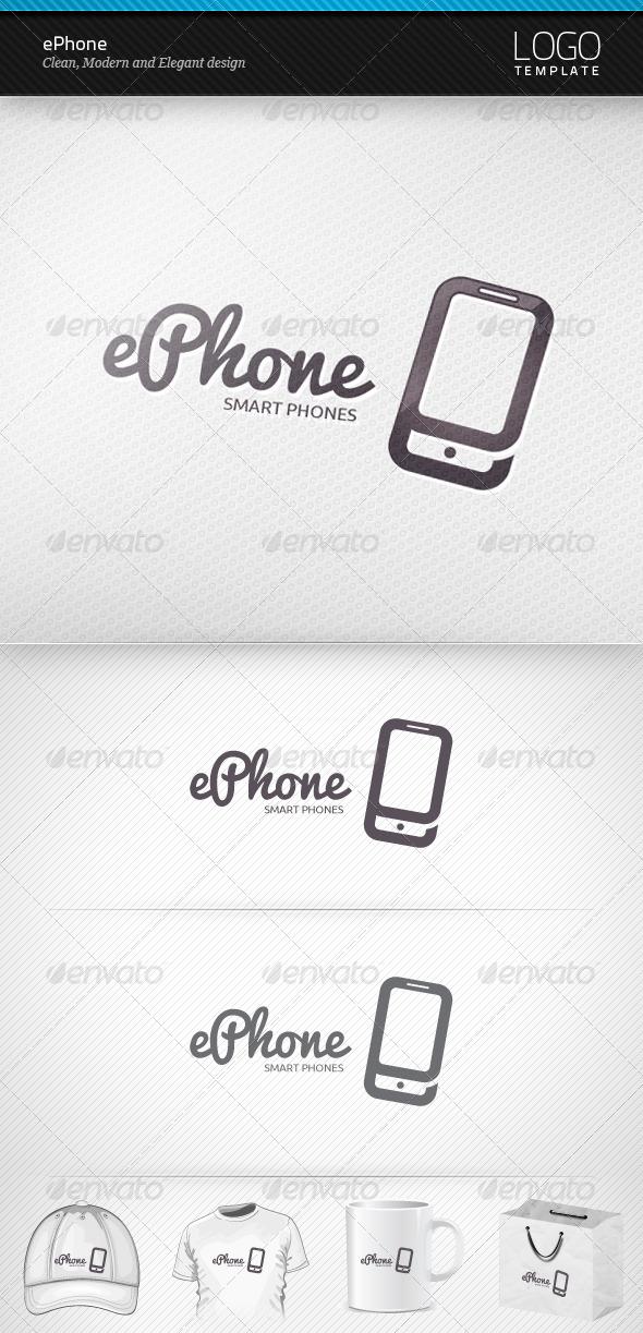 ePhone Logo - Objects Logo Templates