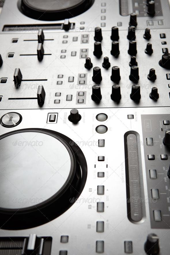 dj mixer - Stock Photo - Images
