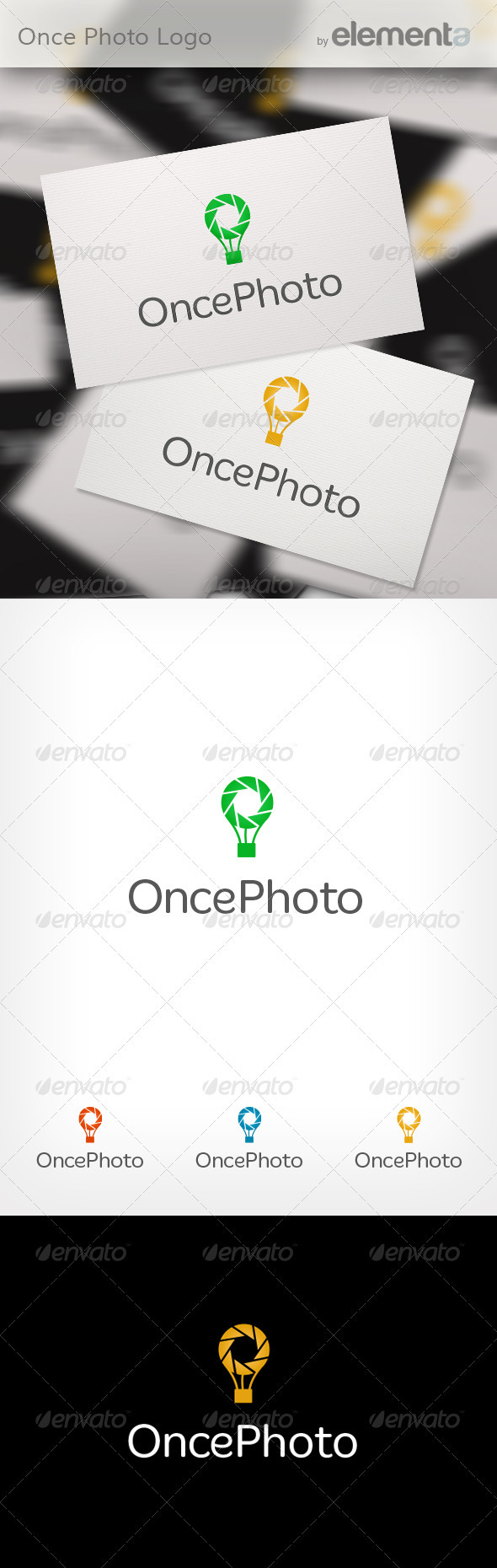 Once Photo Logo - Symbols Logo Templates